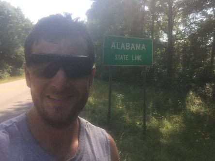Alabama State Border